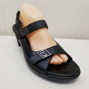 Aravon New Balance Black Sandals 11B Leather